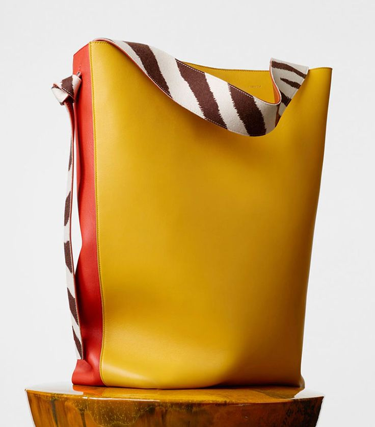 Celine-Oversized-Twisted-Cabas-Yellow-2350 | Bags | Pinterest