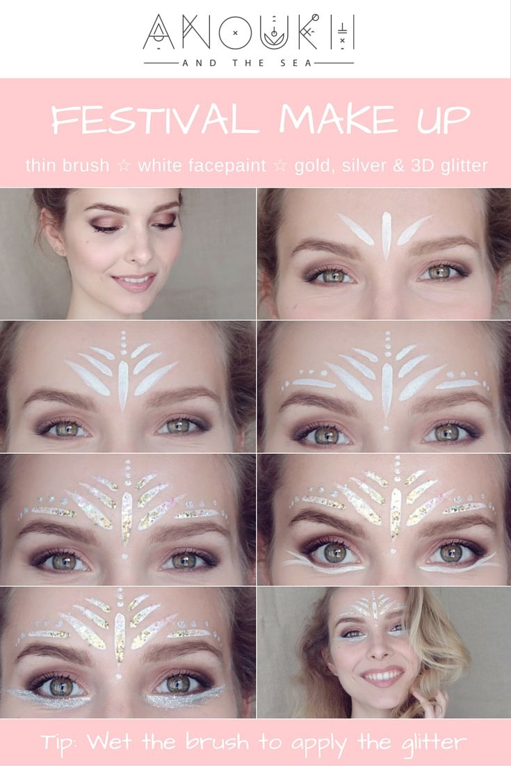 Festival Make Up: Angel Eyes Festival Make Up Pictorial  Hier findet ihr ALLES rund um das Thema Beauty und Wellness. Wir suchen für euch die neusten Trends und Techniken heraus . https://e1j.de/BuAj