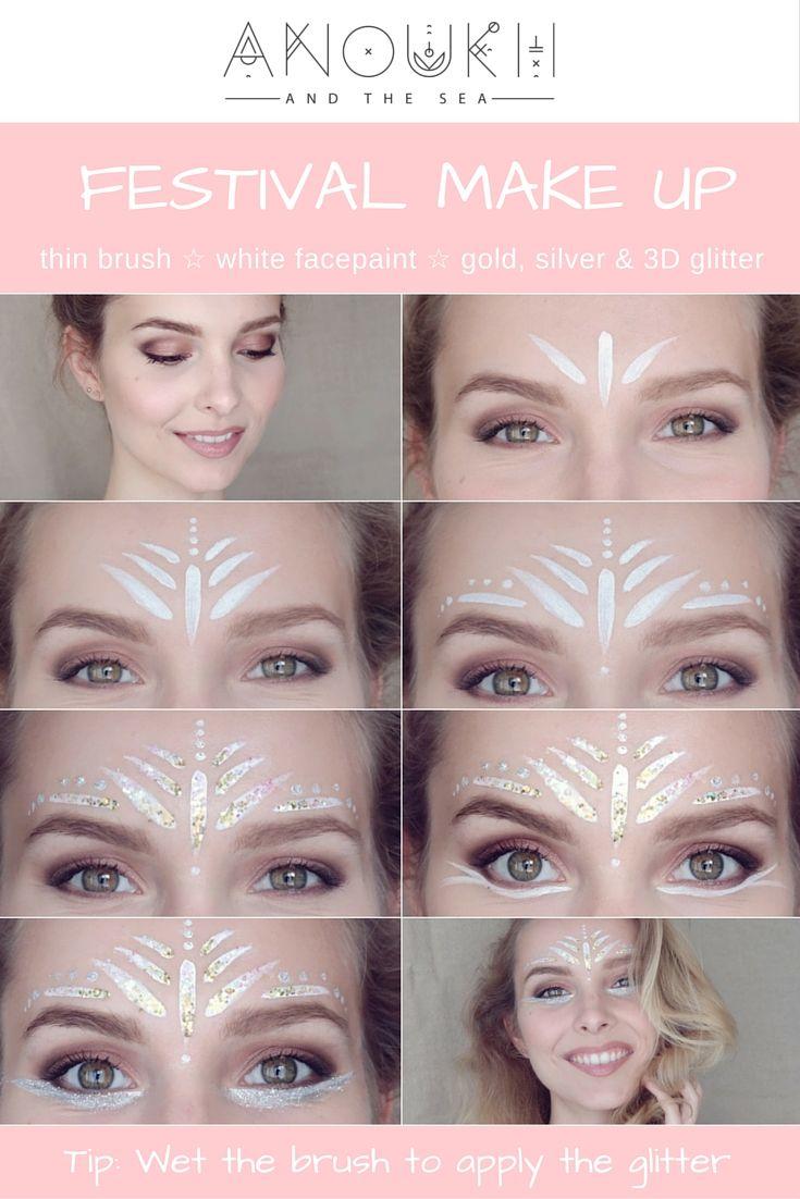 Festival Make Up: Angel Eyes Festival Make Up Pictorial ,  Ashleigh Youra