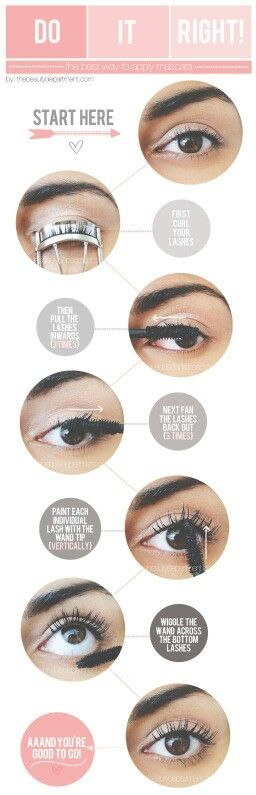 How to make your eyelashes longer by mascara?
