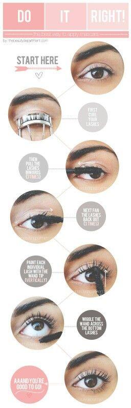 How to make your eyelashes longer by mascara?
