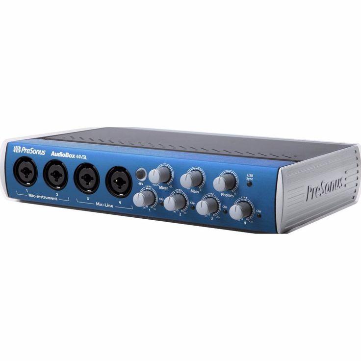 Presonus Audiobox 44VSL USB Audio MIDI PC Recording Interface Minty! No Reserve!