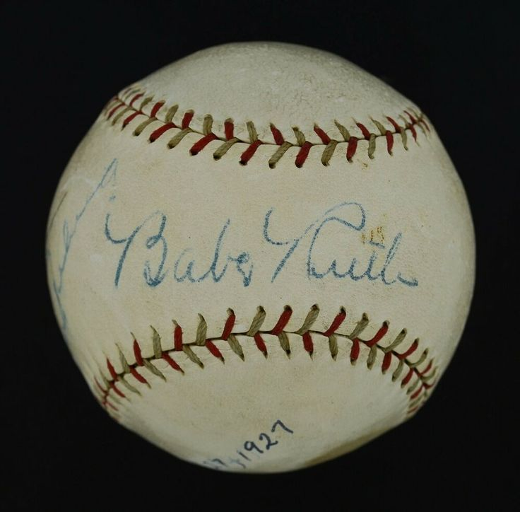 Incredible 1927 Babe Ruth Lou Gehrig Dual Signed Baseball Psa P01232 Baberuth Collectibles Autographs Babe Ruth Baseball Babe Ruth Babe Ruth Autograph