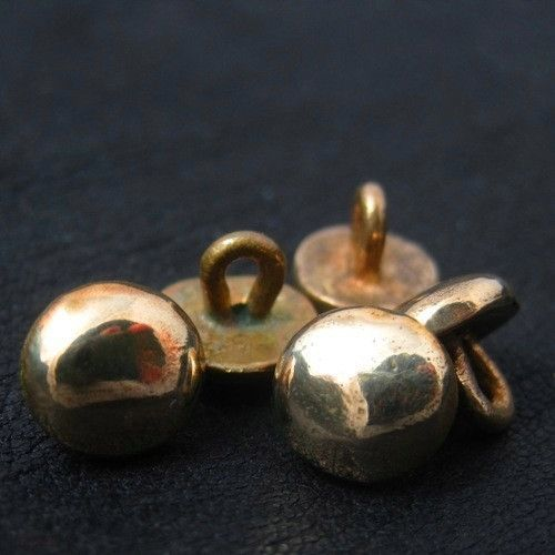 Bronze medieval buttons from The Sunken City by DaWanda.com