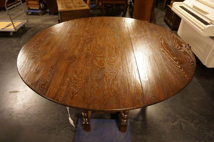 антикварный круглый стол