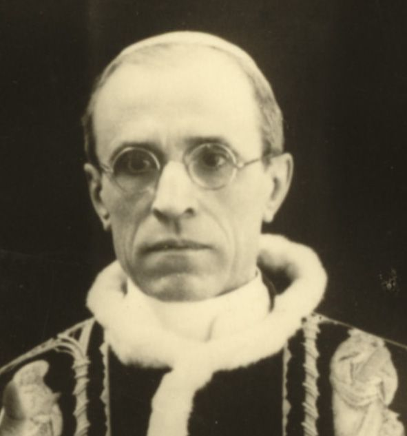 Pius xii facial features