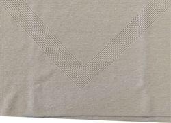 100% Hemp V Neck Travel Clothing Top is made from Organic Hemp on flat bed knitting machines.