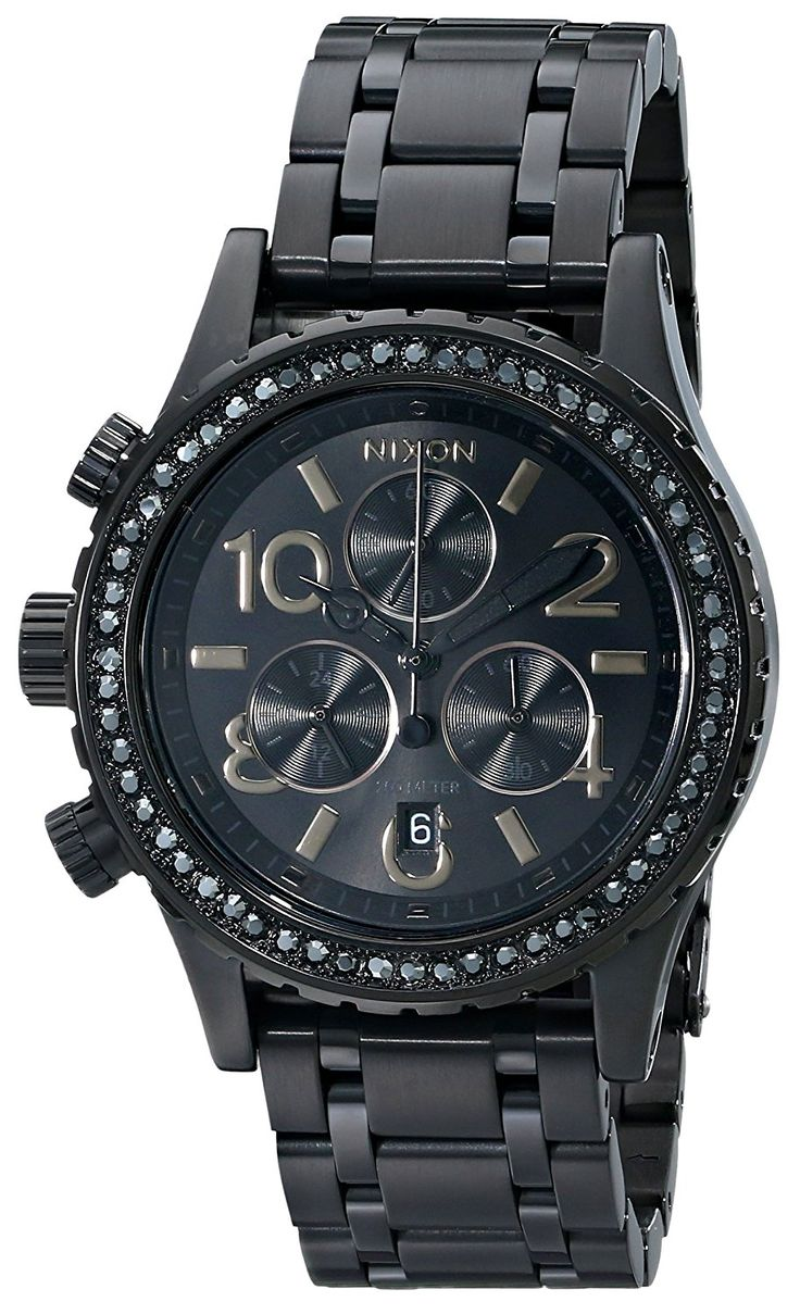 Nixon Women's A4041879 38-20 Chrono Watch >>> Learn more by visiting the image link.