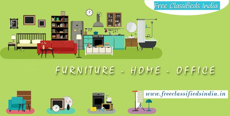 Wanna sell your old #furniture? Try us. http://freeclassifiedsindia.in/