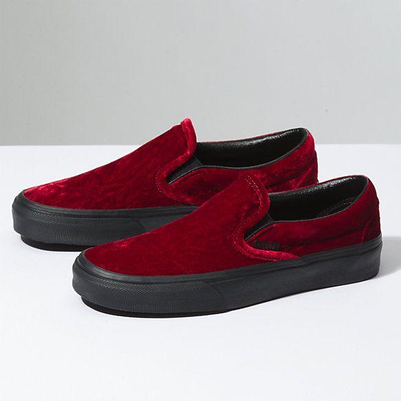 Forever  Canada Crushed Velvet Shoe