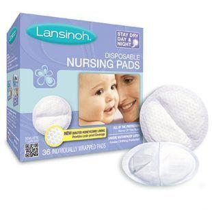 Wkładki laktacyjne Lanisnoh 36 szt Toddlersi