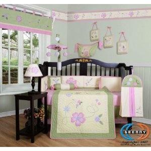 Boutique Baby Lauren's Garden 13PCS CRIB BEDDING SET By GEENNY Designs (Baby Product)  http://www.amazon.com/dp/B002EB928E/?tag=beddingset0f-20  B002EB928E