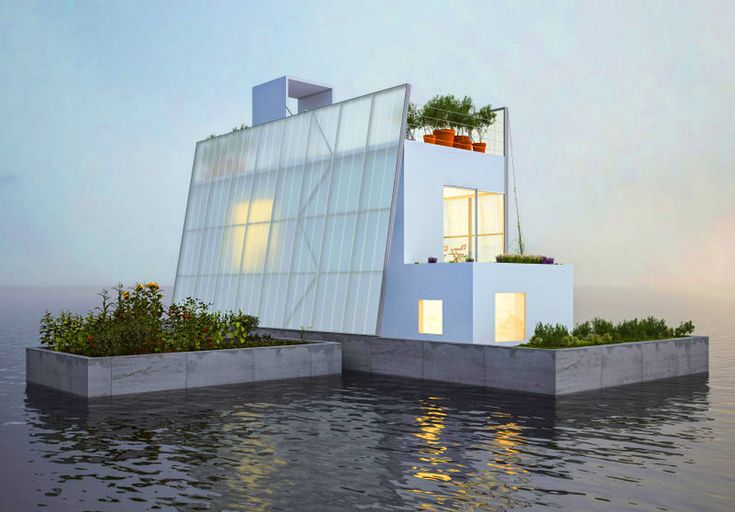 Carl Turner's Floating House is a sustainable solution for flood zones | Inhabitat - Sustainable Design Innovation, Eco Architecture, Green Building