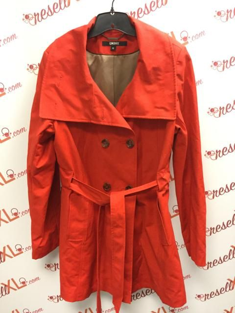 9c0fb7815a076c DKNY XL Red Trench