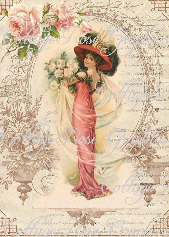 Victorian Romance Lady