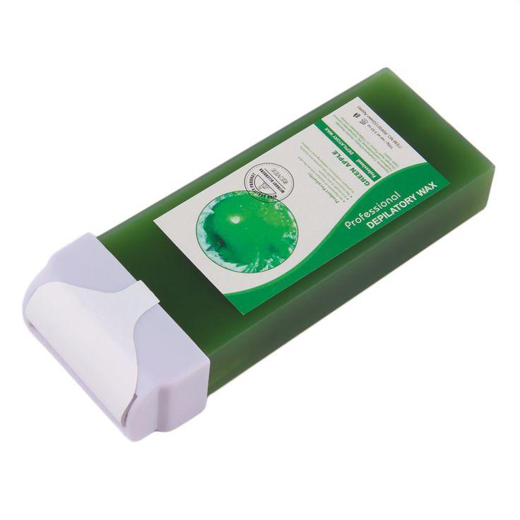 Female Body Depilatory Wax Cartridge Creen Aplle Taste Wax Cartridge Heater Waxing Hair Removal Tools 100g Depilatory Cream #Affiliate