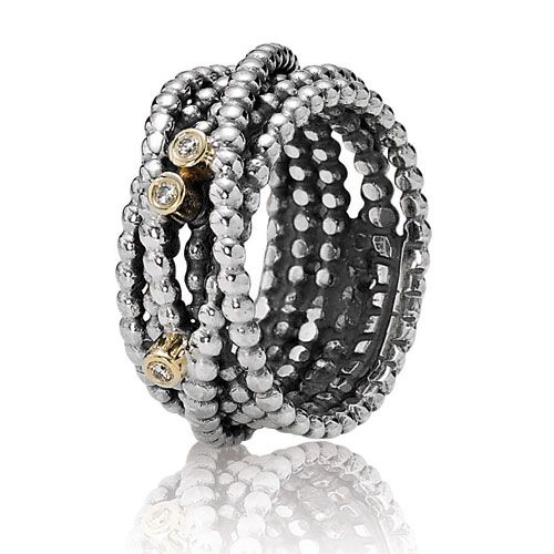 Pandora Entangled Beauty Ring With Diamond Wanted