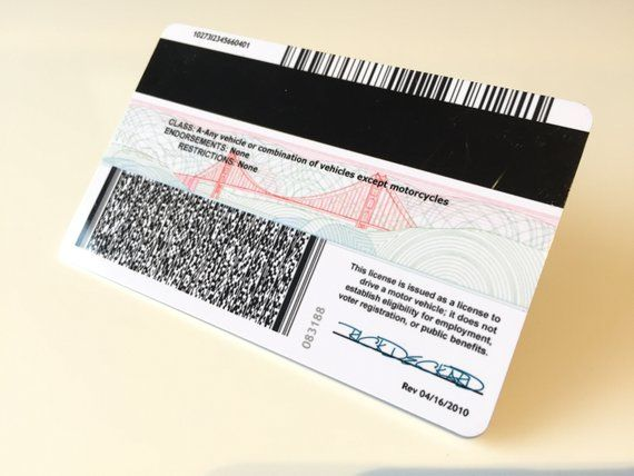 Blade Runner Rick Deckard Wallet California Id Card 2019 Etsy Blade Runner Rick Deckard Blade