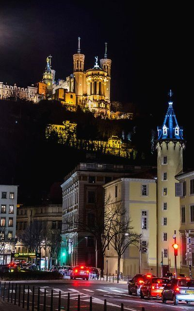 Fourvière, Watching over Lyon, Rhone-Alpes, France | Flickr - Photo by Aldream