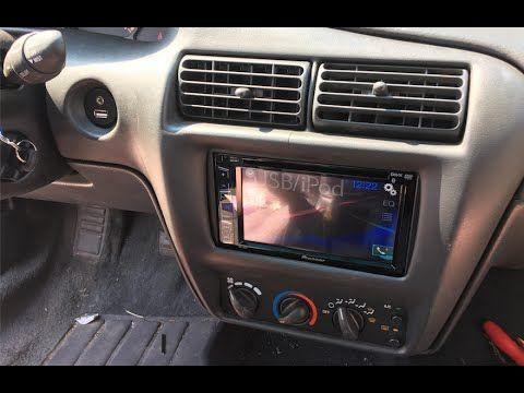 1995 - 2005 Chevy Cavalier Pioneer Bluetooth Radio Install AVH-X280BT - YouTube