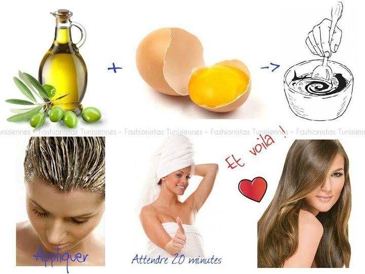 Recette De Masque Pour Cheveux Fait Maison Guide Astuces Voici Un Masque Que Je Fais Regulier Masque Pour Cheveux Abimes Masque Cheveux Masque Cheveux Oeuf