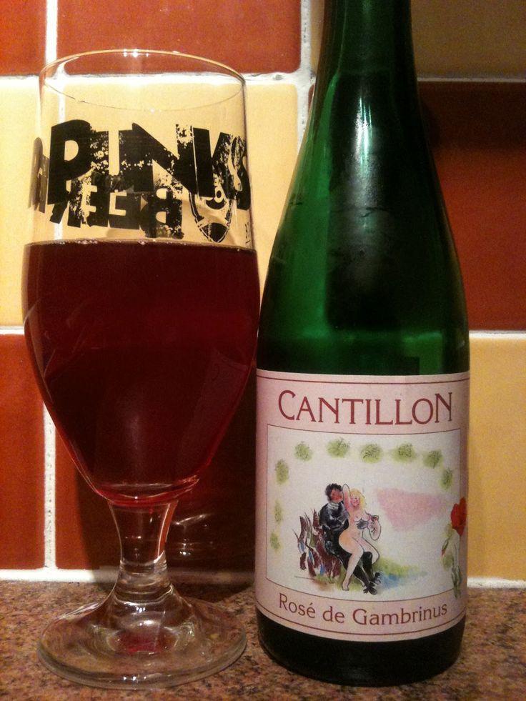 Cantillon - Cantillon Rose De Gambrinus(Lambic /3/4 Raspberry 1/4 Cherry) 5,0% 75cl pullo