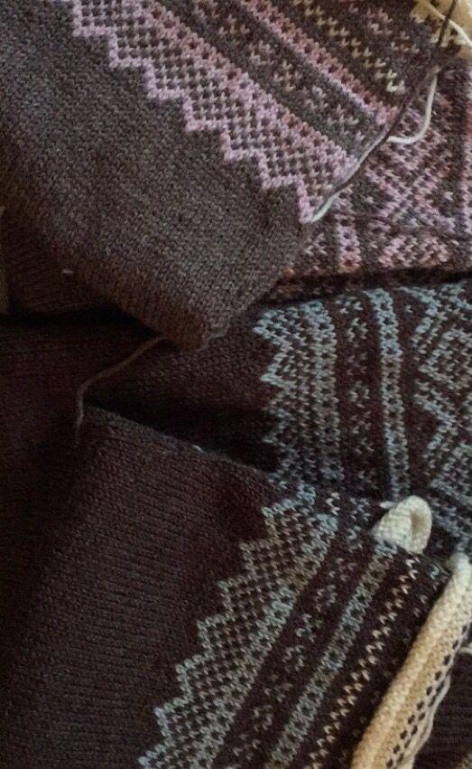 Fine farger til Marius genser