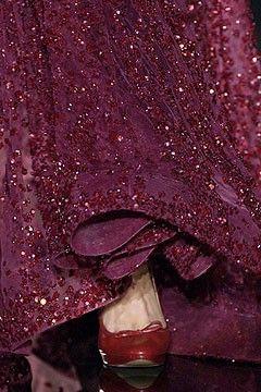 GownFashion Outfit, Colors Red, Elie Saab, Details, Aubergine Plum, Wedding Ideas, Burgandy, Burgundy Sparkle, 2006 Couture