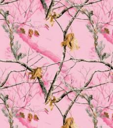 Pink Camo Realtree APP Beach Towel