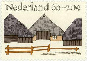 The Netherlands. 1974. Summer. Design by Gerrit Noordzij