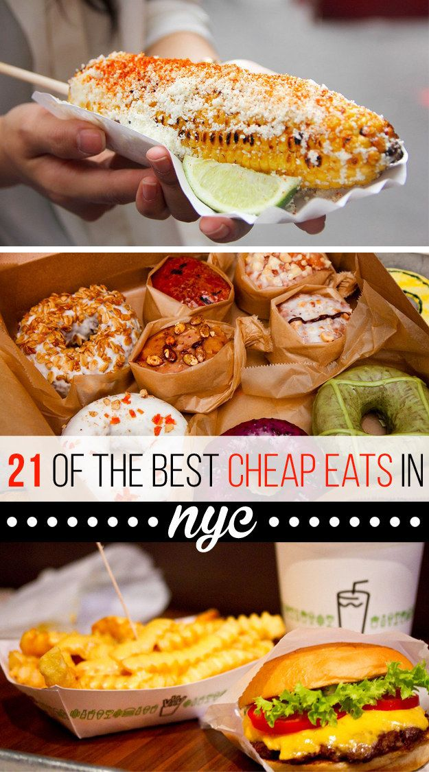 21 Delicious NYC Foods That Won't Break The Bank!