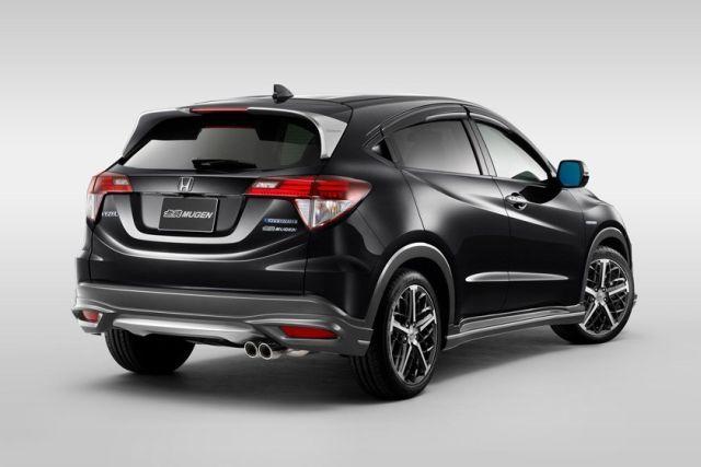 Honda Vezel Tuned By Mugen Honda Hrv Mobil Hrv Honda Cars