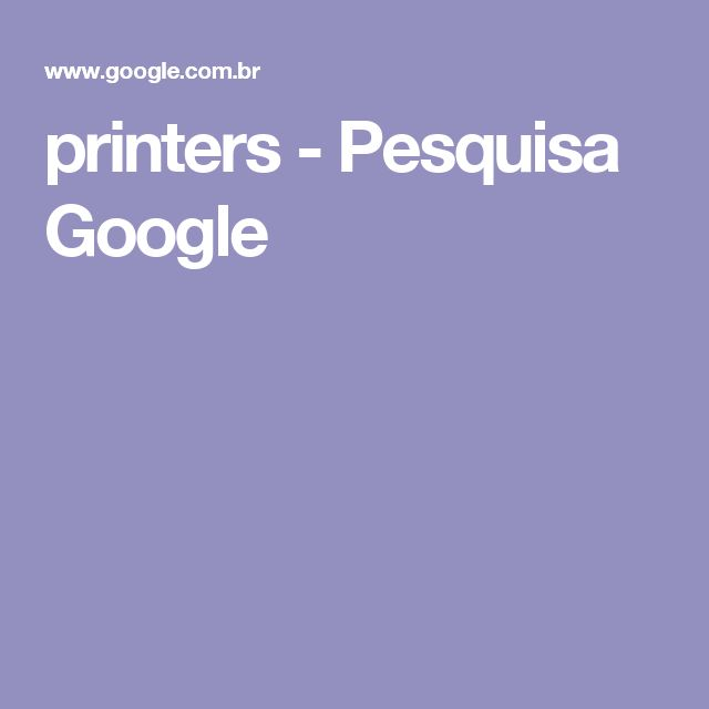 printers - Pesquisa Google