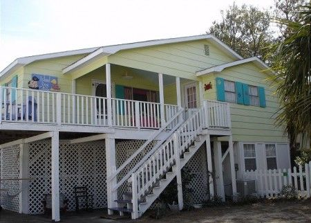 Pet Friendly Beach Houses In Tybee Island
