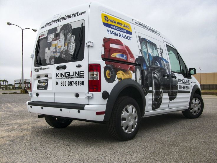 Partial vehicle wrap for Kingline by Pensacola Sign in Pensacola, Florida. 🚗💨 On Average, vehicle wraps cost less than $1 per thousand impressions and outdoor advertising like vehicle graphics have the greatest return on investment. Let us help you create your perfect rolling billboard! #pensacolasign
