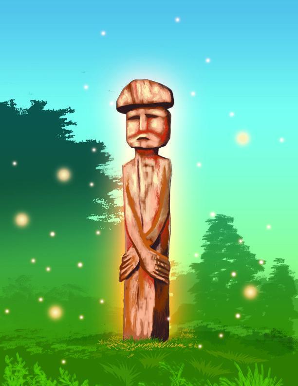 Chemamull (del mapudungun: che, persona y mamüll, madera, persona de madera) son estatuas mapuches de madera. Se utilizan en ritos funerarios