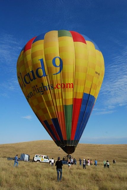 Hot Air Ballooning over the Hunter Valley with Cloud 9 Flights