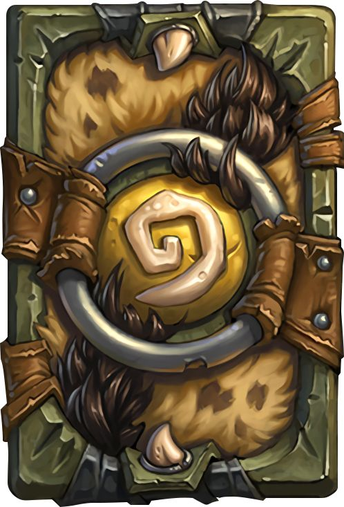 Card Back: Riverpaw Ruffian Artist: Blizzard Entertainment