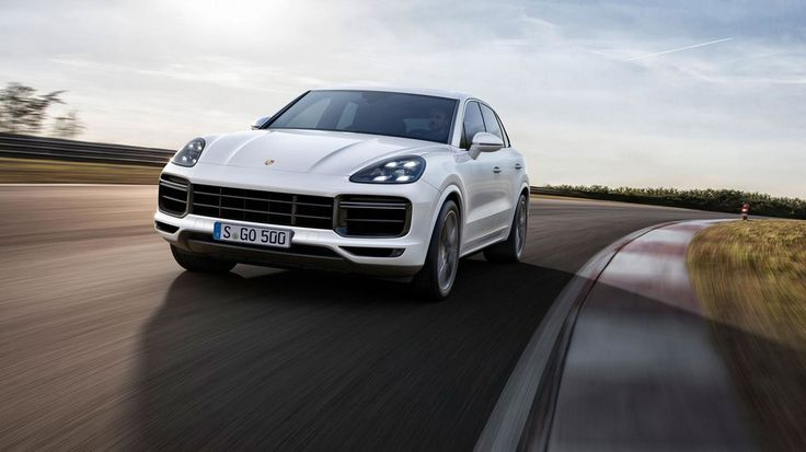 New Cayenne Turbo Is The Porsche 911 Of SUVs :  The four-litre V8 biturbo engine delivers 404 kW (550 hp; Fuel consumption combined 11.911.7 l/100 km; CO2-emissions 272267 g/km). The increased driving dynamics are based on the combination of innovative technologies such as active aerodynamics including roof spoiler controlled three-chamber air suspension mixed tyres and the new high-performance brake. With additional options such as rear-axle steering or electric roll stabilisation with a…