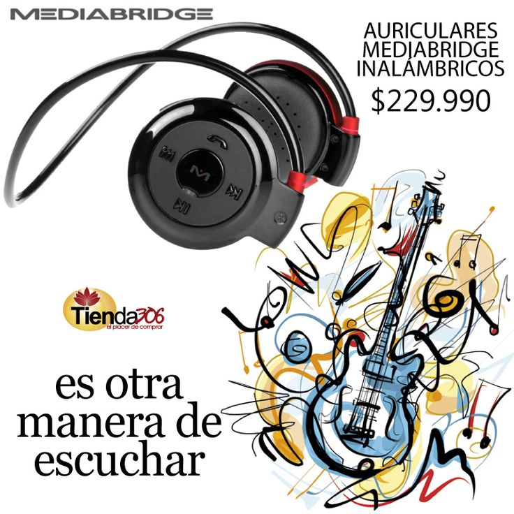 Audífonos Mediabridge - Otra manera de escuchar 🎶