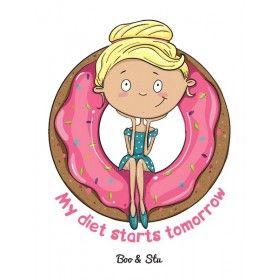 Диета и пончики