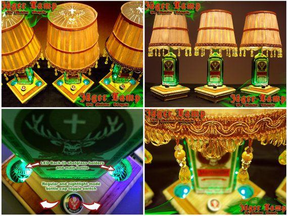 The worlds best Jäger Lamp / handmade all LED by JagerLamp on Etsy, $350.00