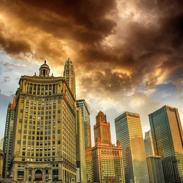 Chicago skyscrapers - Chicago is among the largest cities in the USA. Come and explore with us: https://www.trafalgar.com/eu/destinations/north-and-central-america/united-states
