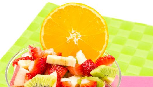 Fruit Salad Sunrise: bright and fresh, a delicious way to start the school year right.