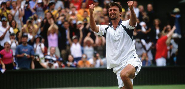 An emotional Goran Ivanisevic completes the mother of All Sporting fairytales by finally winning at Wimbledon Championships (2001)