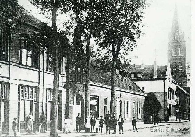 Tilburgseweg Goirle 1900