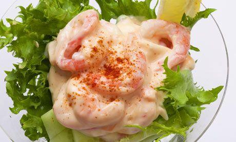 Nigel Slater's prawn cocktail. Photograph: Jonathan Lovekin for the Observer