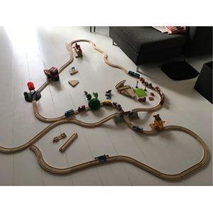 BRIO togbane, BRIO togbane med 3 elektriske lokomotiver