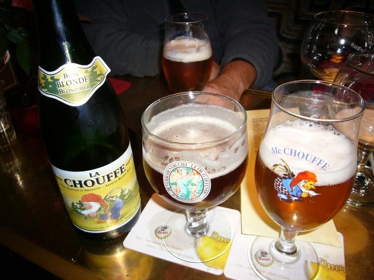La Chouffe e Hoegaarden Verboden Vrucht/ Le Fruit Défendu. Gent, Belgium.
