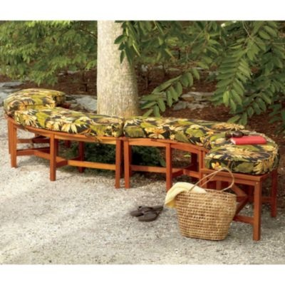 how to build a fire pit bench